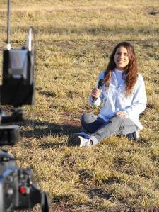 Nuestra chacra y el Colegio es la mejor escenografía que tenemos para mostrar por el canal 7 Chubut TV todos los domingos