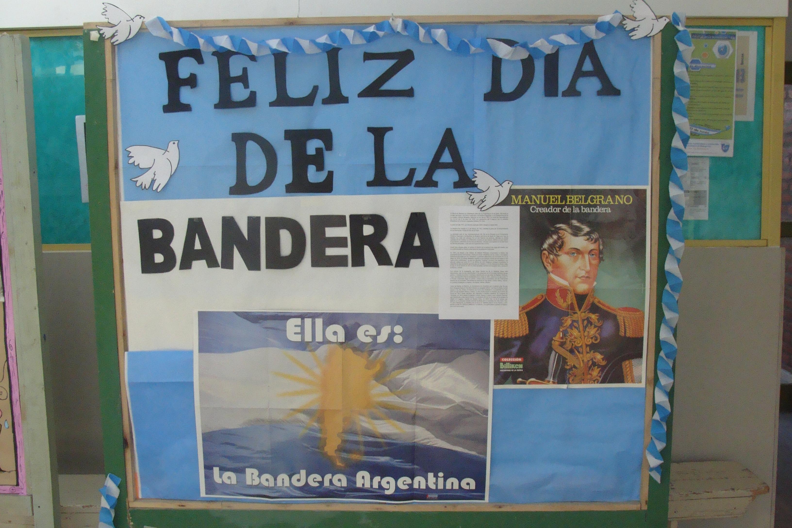 Feliz d a de la bandera bienvenidos for El mural pelicula argentina