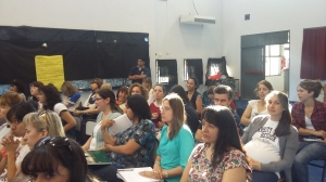 Gran concurrencia de profesores de Agrotécnica a la última jornada.